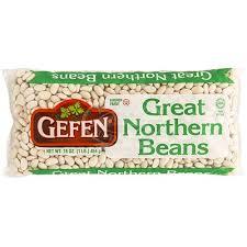 gefen kosher gefen great northern beans 16 oz rocklandkosher online