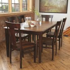 hardwood dining room custom all wood dining room table home