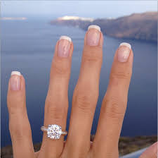 2ct engagement rings why do 2 carat engagement rings cost so much more than 1 carat rings
