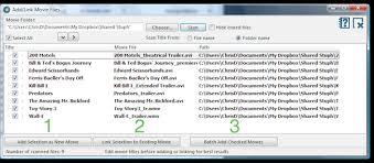 add movie files movie collector for windows v15 v16 v17