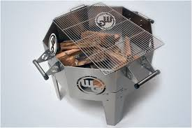 Cooking Fire Pit Designs - stainless steel fire pit