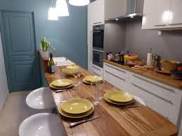 cuisine longueur cuisine familiale toute en longueur kitchen cuisine