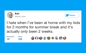 funniest tweets from parents who can u0027t wait for summer vacation to