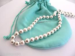 silver bead necklace tiffany images Tiffany co silver 10 mm ball bead necklace chain excellent jpeg