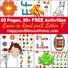 5 free preschool worksheets for preschool alphabet letter f