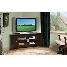 corner media cabinet 60 inch tv william s home furnishing 60 inch corner tv stand overstock