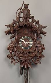black forest clocks black forest carved wood cuckoo clock with