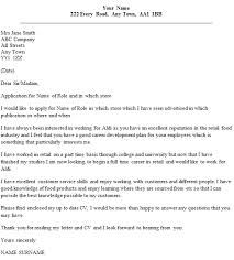 aldi cover letter example u2013 cover letters and cv examples