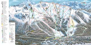 Whistler Trail Map Cerro Catedral Skiing Terrain Snowboard