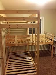 Making Wooden Bunk Beds by Triple Bunk Hack U2013 Mydal Bunkbeds Ikea Hackers For The Lake