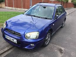 subaru station wagon subaru lmpreza 2 0 gs sport awd 2003 facelift model 5 door station