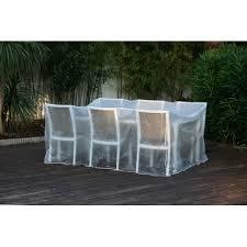 housse canape exterieur housse de protection bache pour salon ou table de jardin transparente