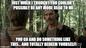 Walking Dead Birthday Meme - image result for walking dead birthday meme twd pinterest