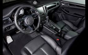 porsche black interior techart custom macan based on porsche macan news acurazine
