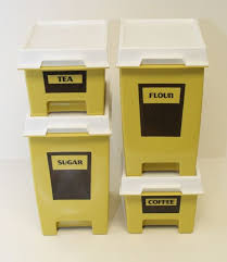 plastic kitchen canisters 82 best vtg kitchen misc canisters plastic images on