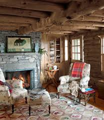 log cabin living room decor awesome vintage country living rooms with log cabin house tour