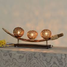 Coconut Shell Chandelier Southest Coconut Shell Decoration Wood Table L Creative Vintage