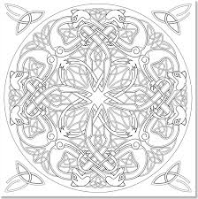 coloring pages celtic designs coloring book stress celtic