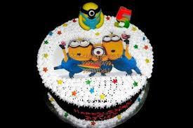 happy birthday minion theme cake noida despicable me minion cake