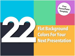 22 flat background colors for your presentation free powerpoint temp u2026