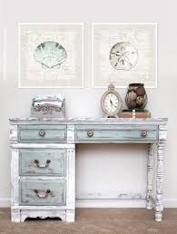 painting a desk white a lovely distressed desk painted in pure white paris grey duck