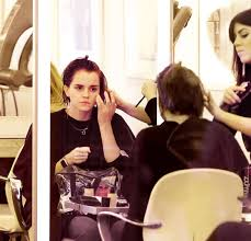 emma watson at hair salon in new york celebzz celebzz
