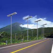 all in one solar street light smart 30w 40w 60w all in one solar street light