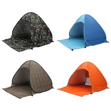 Camping Tent Awning 2 3 Persons Fishing Tent Outdoor Camping Hiking Beach Summer Tent