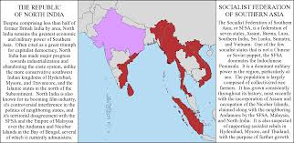 Map Of Southern Asia by Motf 68 A Mile Between A World Away Alternate History Discussion