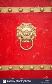 Bat Door Knocker by Door Knocker Red Chinese Stock Photos U0026 Door Knocker Red Chinese