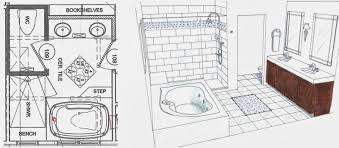 Jack And Jill Bathroom Designs His And Hers Master Bathroom Floor Plan With Two Toilet Rooms