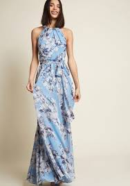 eliza j eliza j flowing elegance maxi dress in garden modcloth