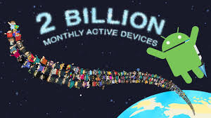 android celebrating a big milestone together with you
