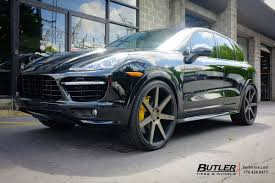 Porsche Cayenne Wheels - porsche cayenne with 24in niche verona wheels exclusively from
