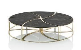 Modular Coffee Table Contemporary Coffee Table Wooden Modular Telemaque