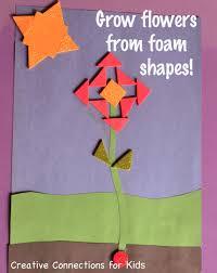 create foam shape flowers