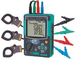 single phase power quality analyser kyoritsu meter test equipment
