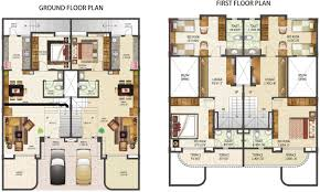 row house floor plan stylish design row house plans houses home design ideas