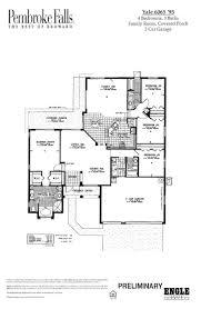 just listed pembroke falls lakefront yale model home willard team