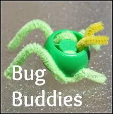 bug finger puppets spring crafts for kids