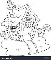 gingerbread house colouring page free coloring pages on art
