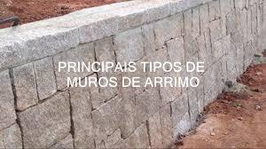 Muito Principais tipos de Muro de Arrimo ou Contenção - YouTube @HD42