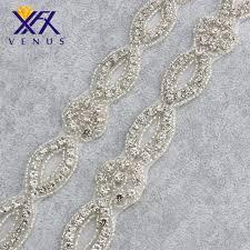 popular crystal rhinestone trim bridal rhinestone buy cheap 5 yards 2 beads belts rhinestone applique crystal trims bridal dress belts rhinestone