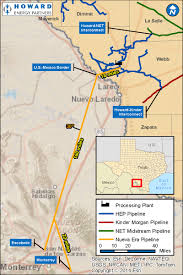 Texas And Mexico Map by Howard Energy Proposes 200 Mile Pipeline To Mexico