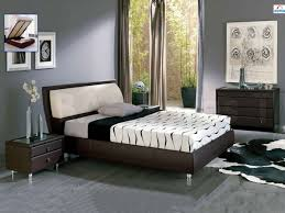 Brown Furniture Bedroom Small Gray Bedroom Design Inspirations With Brown Bed