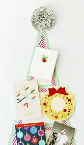 What Is Washi Tape Diy Washi Tape Christmas Card Tree Diycandy Com