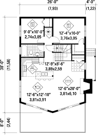 cabin style house plan 3 beds 1 00 baths 1245 sq ft plan 25 4586