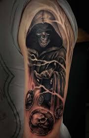 62 best azrail dövmeleri grim reaper tattoos images on pinterest