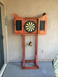 dart board cabinet stand wood projects i u0027ve made pinterest
