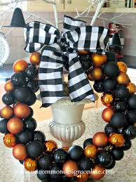 Halloween Glass Ornaments by Diy Halloween Ornament Wreath Uncommon Designs